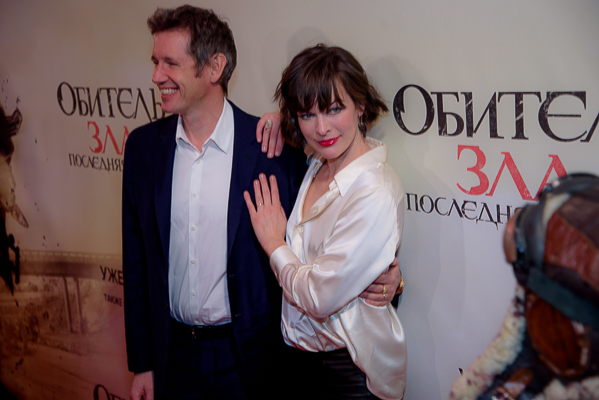 Премьера «Обитель зла: Последняя глава» в Москве